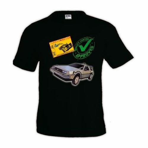 """Camiseta de la película """"Regreso al futuro"""""""