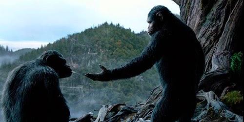 """Ficha de la película """"El amanecer del planeta de los simios"""""""