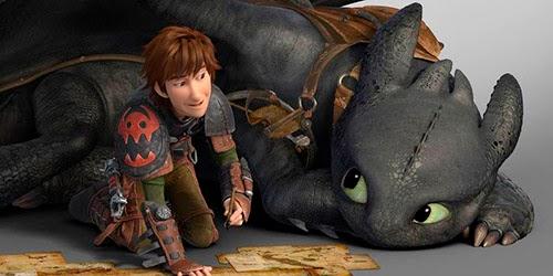 """Ficha de la película """"Cómo entrenar a tu dragón 2"""""""