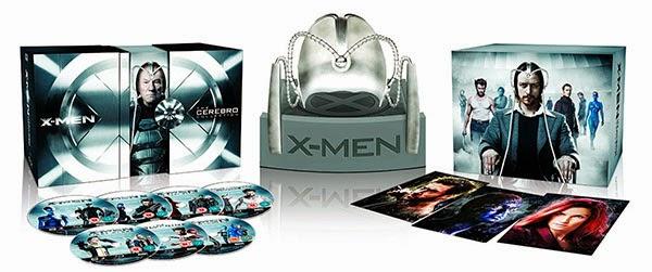 """Colección de la saga """"X-Men"""" Edición Especial Casco Cerebro"""