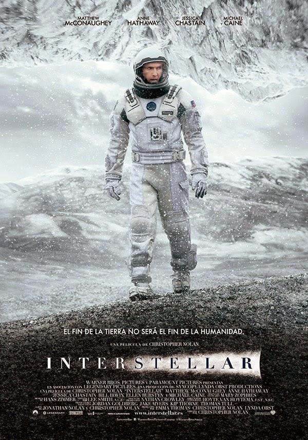 """Ficha de la película """"Interstellar"""""""