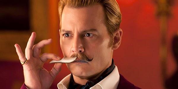 """Johnny Depp hace el ridículo en la taquilla USA con """"Mortdecai"""""""