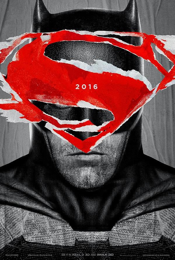 """Carteles promocionales de """"Batman v Superman: El origen de la Justicia"""""""