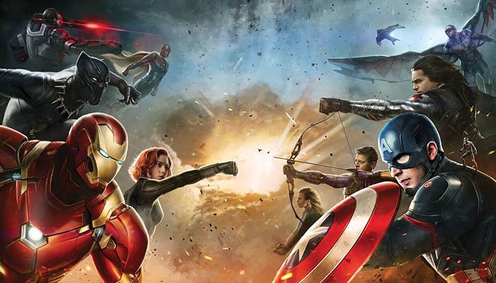 """Imágenes promocionales de los bandos de """"Captain America: Civil War"""""""