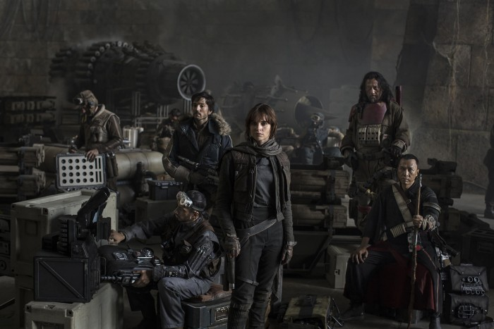 "Imagen promocional de ""Star Wars: Rogue One"""