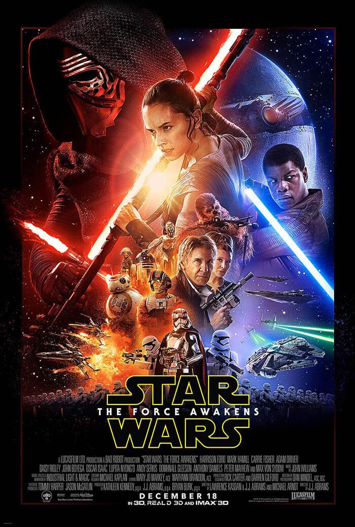 """Cartel oficial de """"Star Wars: El despertar de la Fuerza"""""""