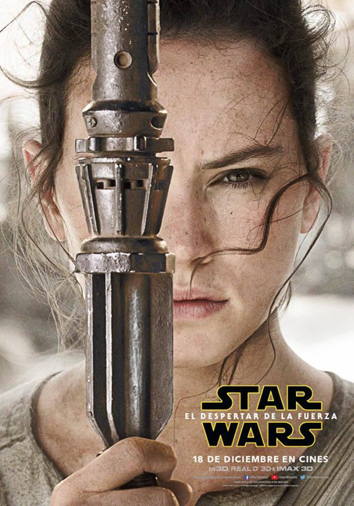 """Carteles de los personajes de """"Star Wars: El despertar de la Fuerza"""""""