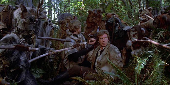 "Curiosidades de ""Star Wars: Episodio VI – El retorno del Jedi"""