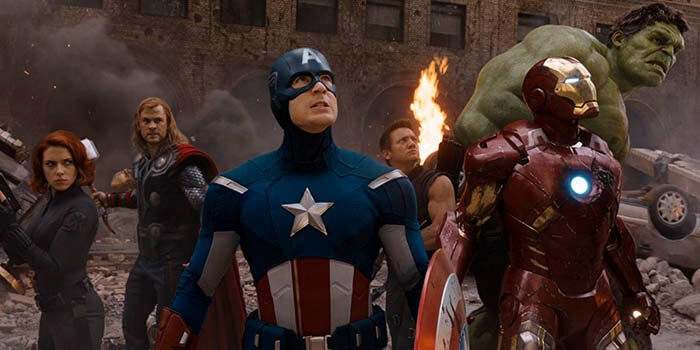 Las películas de superhéroes Marvel más taquilleras