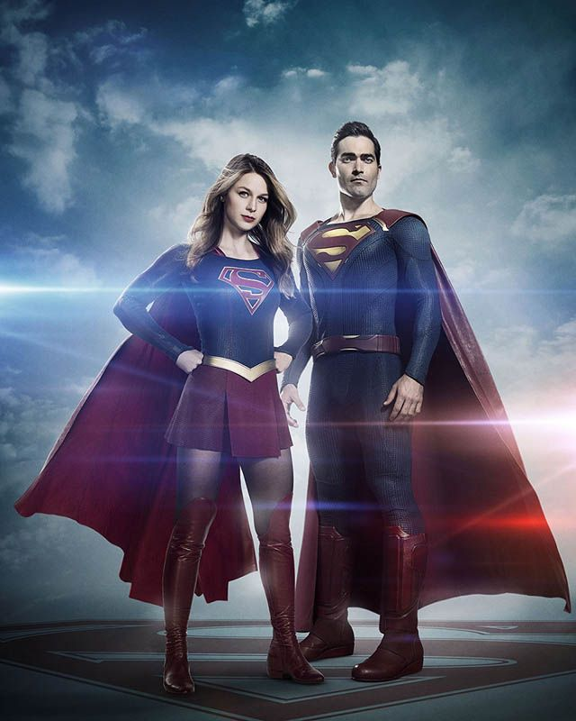 "Imagen del Superman de la serie ""Supergirl"""