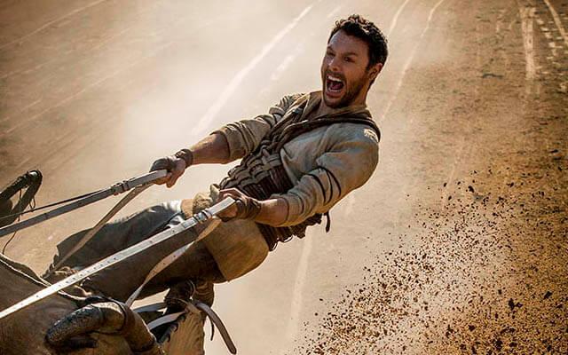 """""""Ben-Hur"""" se cae de la cuadriga en la taquilla USA"""