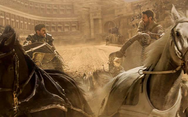 """""""Ben-Hur"""", inesperado número 1 en la taquilla española"""