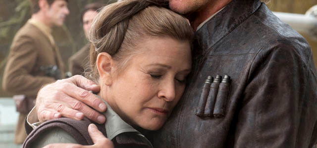 Muere Carrie Fisher, la princesa Leia de