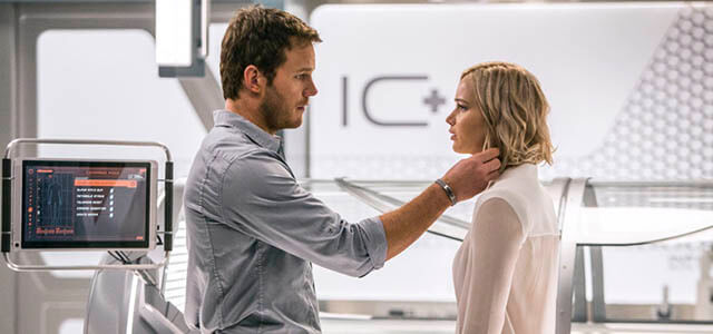 """Crítica de """"Passengers"""", con Jennifer Lawrence"""