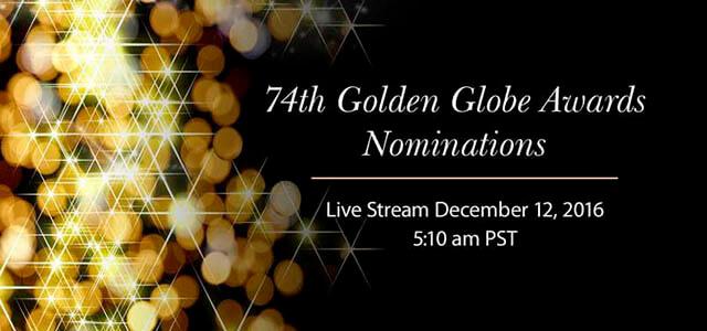 Globos de Oro 2017: Nominaciones de cine y televisión