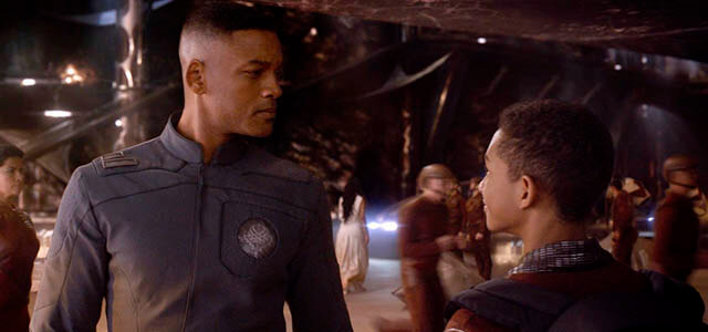 Will Smith y su clon rejuvenecido en