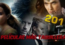 Las películas más taquilleras de 2017