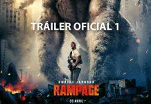 """Primer tráiler en español de """"Rampage"""""""