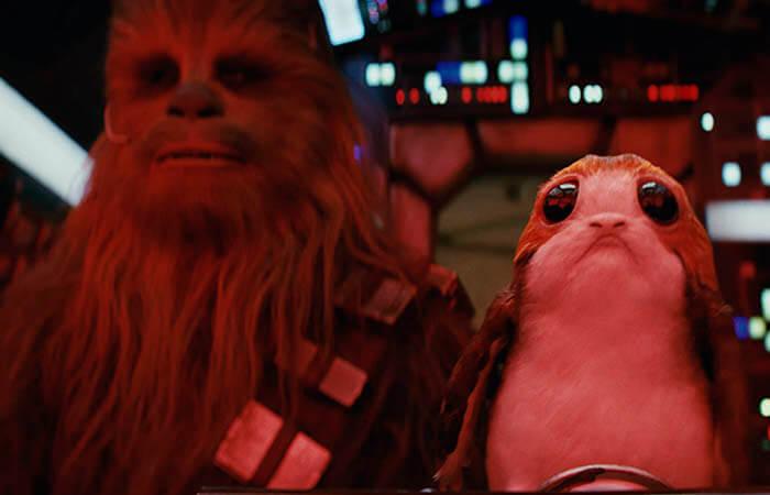 """""""Star Wars: Los últimos Jedi"""", descomunal éxito en la taquilla USA"""